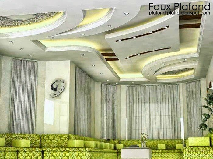 Id e conception faux plafond d 39 un boutique 2014 faux - Idee faux plafond design ...