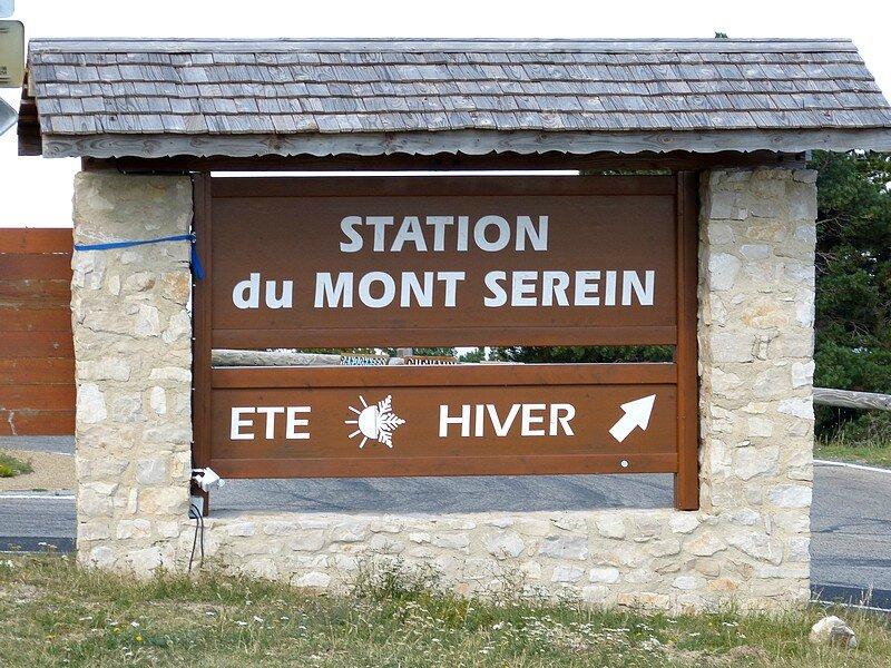 STATION DU MONT SEREIN
