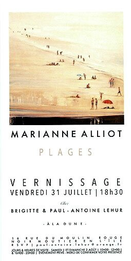 Exposition Marianne Alliot