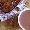 Brownies au chocolat au lait