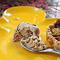 Tartelette figues-mangues et glace à la confiture de lait bonne maman {recette}