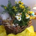 Bouquet de paques avec l'arrivée de pâques voici,