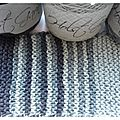 In the loop. echantillon de tricot
