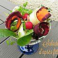 Salade d'après fêtes