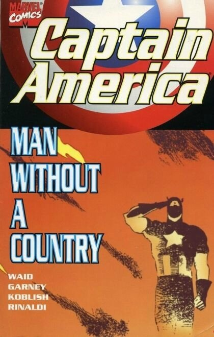 captain america man without a country TP
