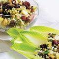 Bouchées de salade aux noix et canneberges sans gluten