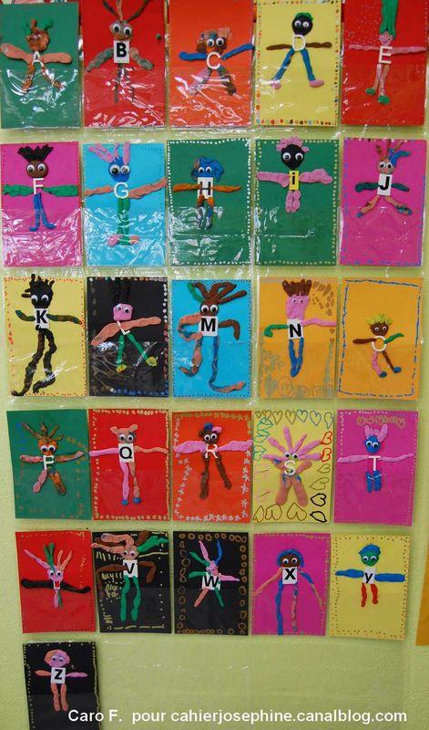 Des bonhommes porteurs de lettres les cahiers de jos phine - Porte photos mural plastique ...