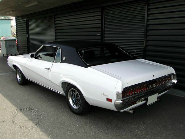 mercury cougar xr7 hardtop coupe 1970 4