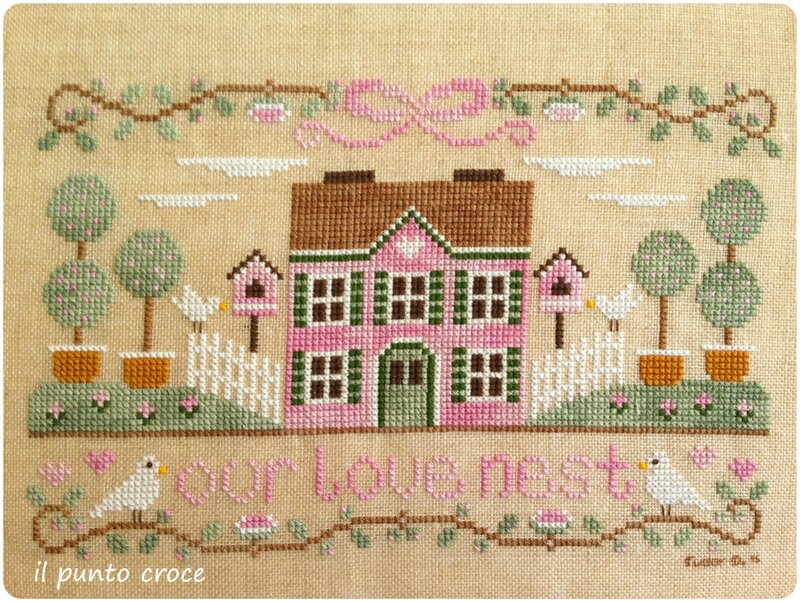 our love nest - CCN - il punto croce