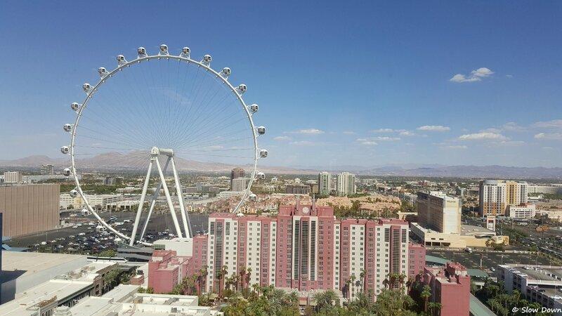 Las Vegas vue d'en haut
