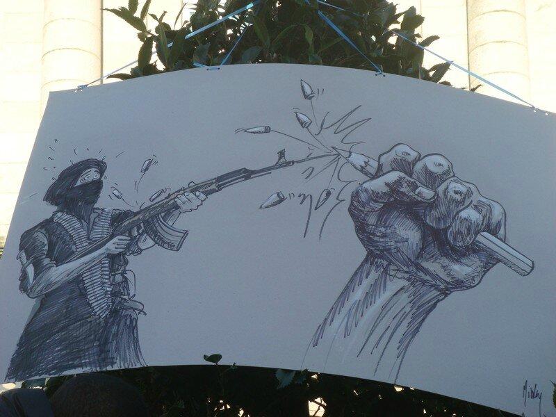 dessin hommage quimper