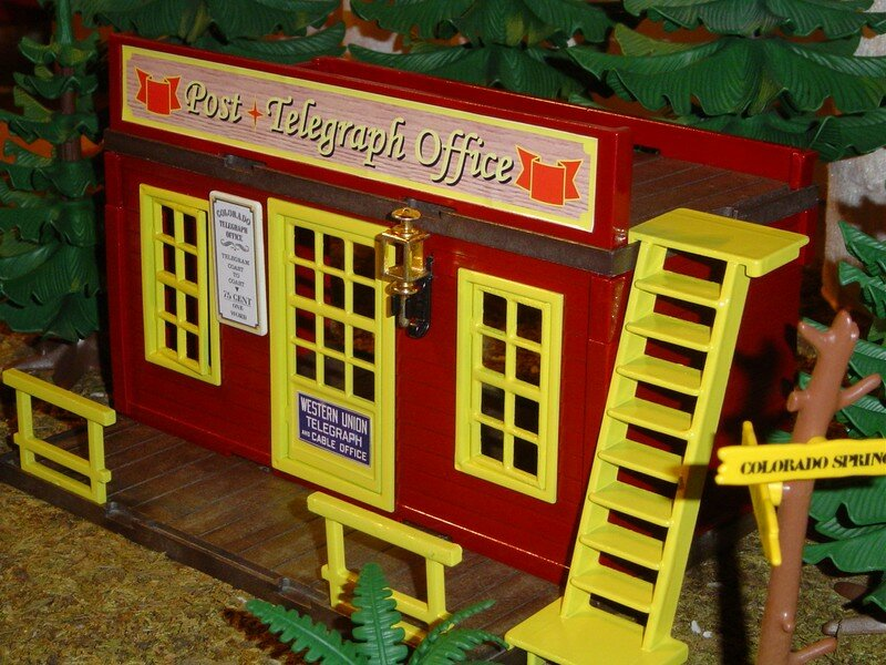 le bureau de poste post telegraph office playmobil. Black Bedroom Furniture Sets. Home Design Ideas