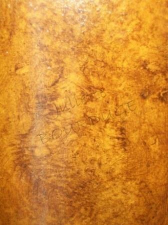 bois loupe d 39 orme photo de matierages et ses trompe l 39 oeil juliette bourduge. Black Bedroom Furniture Sets. Home Design Ideas