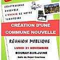 Réunion publique du 21 novembre, faites vous entendre, demandons un referendum