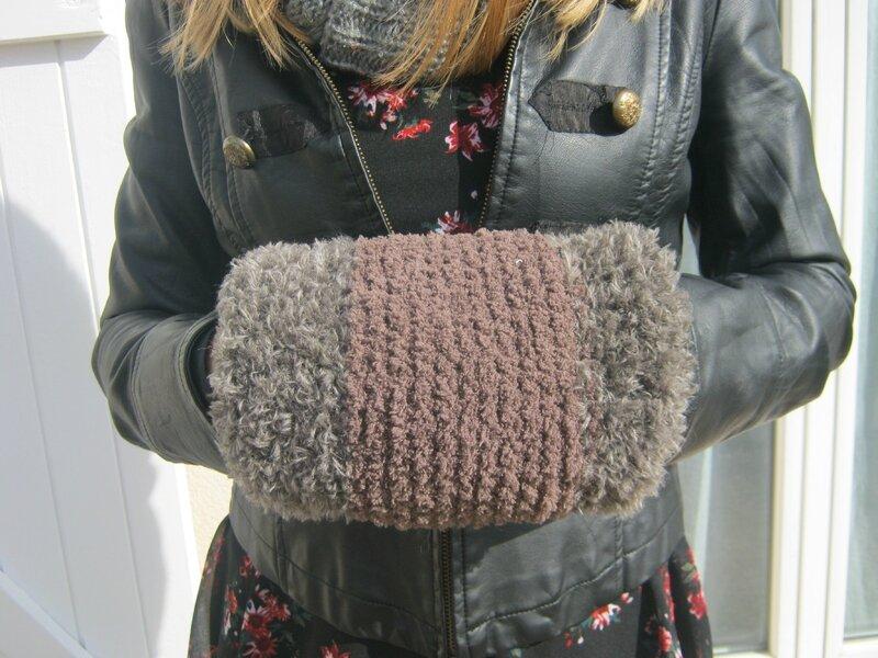 Manchon en laine