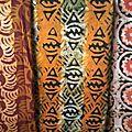 Batik échantillon de pagne