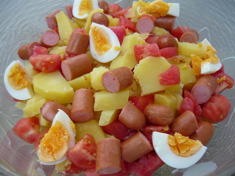 salade de pommes de terre comme je l 39 aime 2 un deux trois petits plats. Black Bedroom Furniture Sets. Home Design Ideas