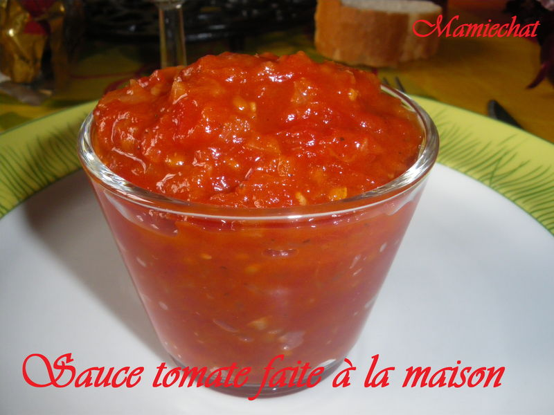Sauce tomate faite la maison le blog de chantal76 - Videos faites a la maison ...