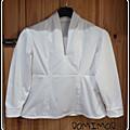 Défi basique: un corsage blanc