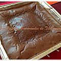 Fondant au chocolat sans beurre mais avec du sucre… ben oui, on ne peut pas tout enlever non plus !