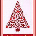 Échange ATC Noël Chez Malina Sandrine pour Marie de Clessé 1