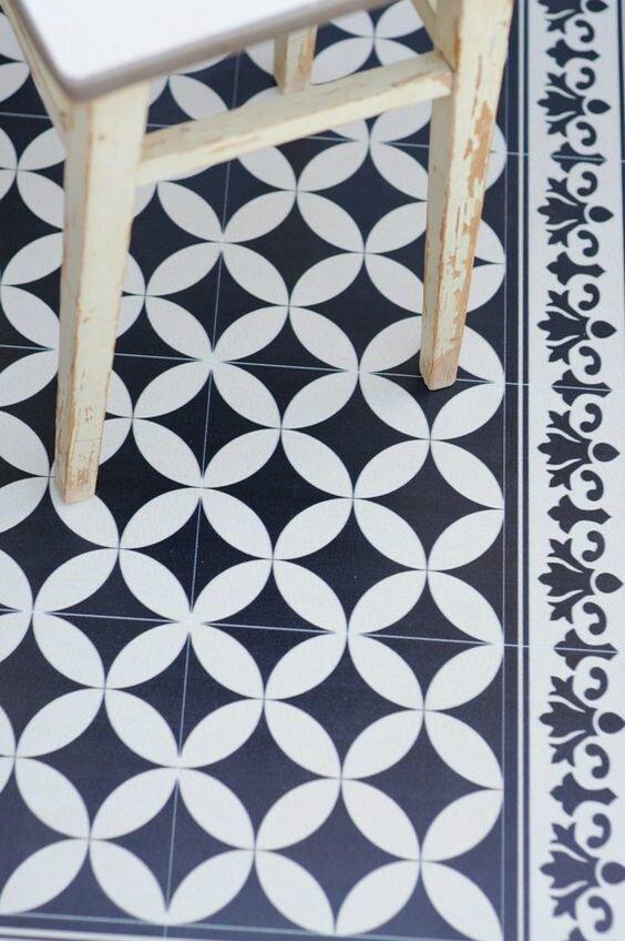 Tapis vinyle diy la p 39 tite mouche for Tapis vinyle cuisine