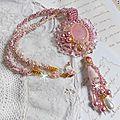 Collier pendentif quartzib'elle