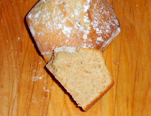 Muffin cannelle (coupe)