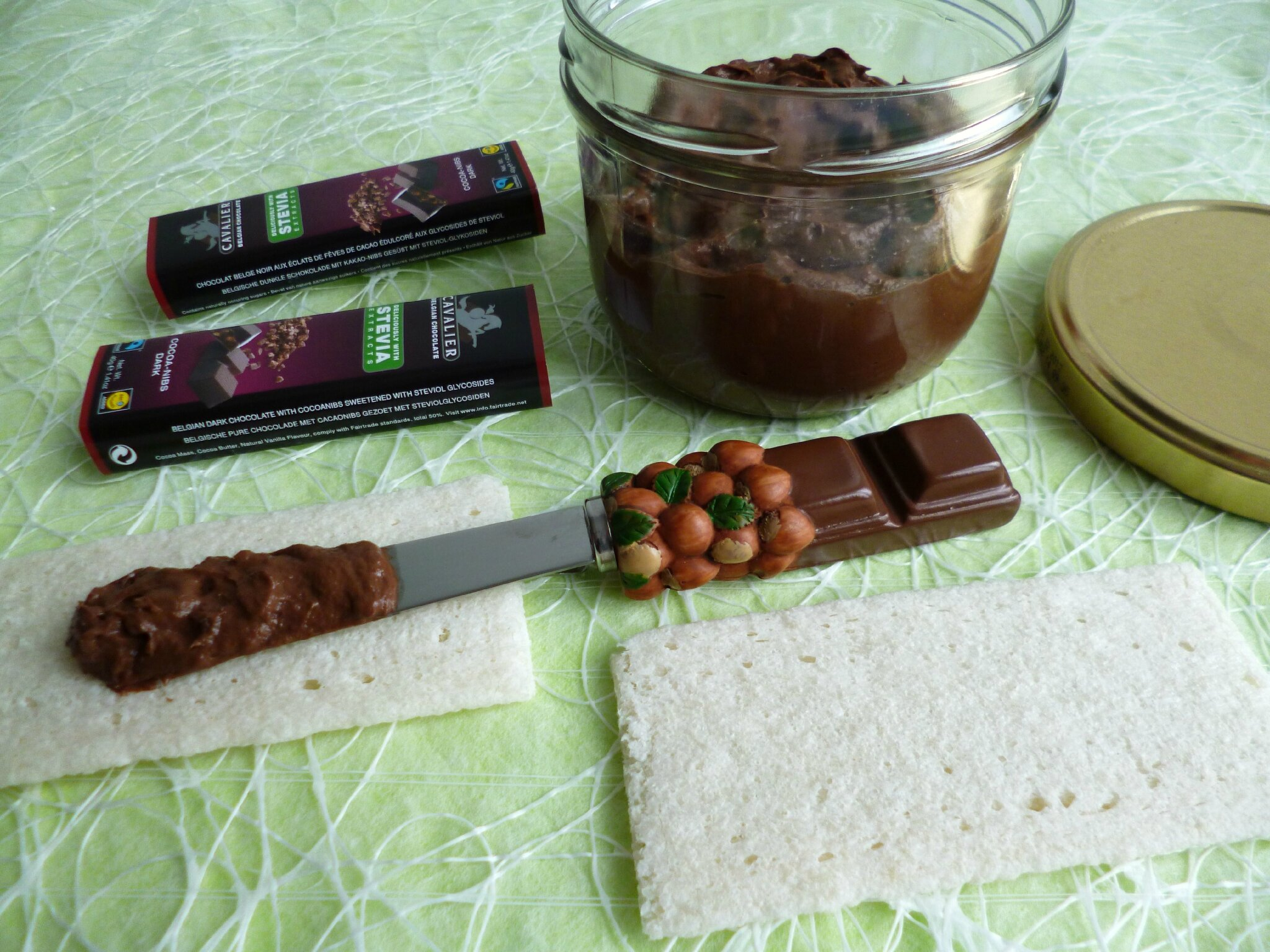 P te tartiner di t tique all g e chocolat e aux f ves de - Blog cuisine dietetique ...