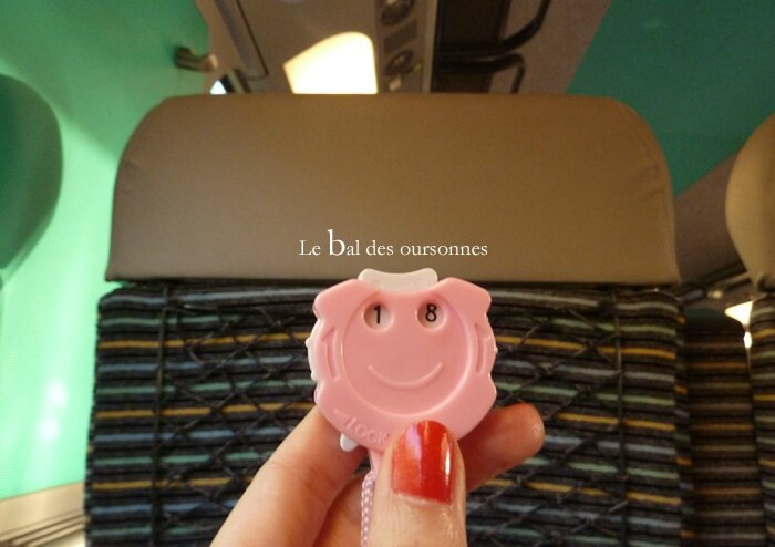 55 Train crochet paris Compte rang