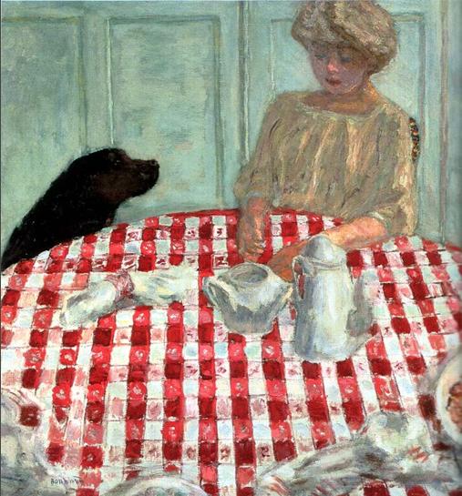 1910 - La nappe à carreaux