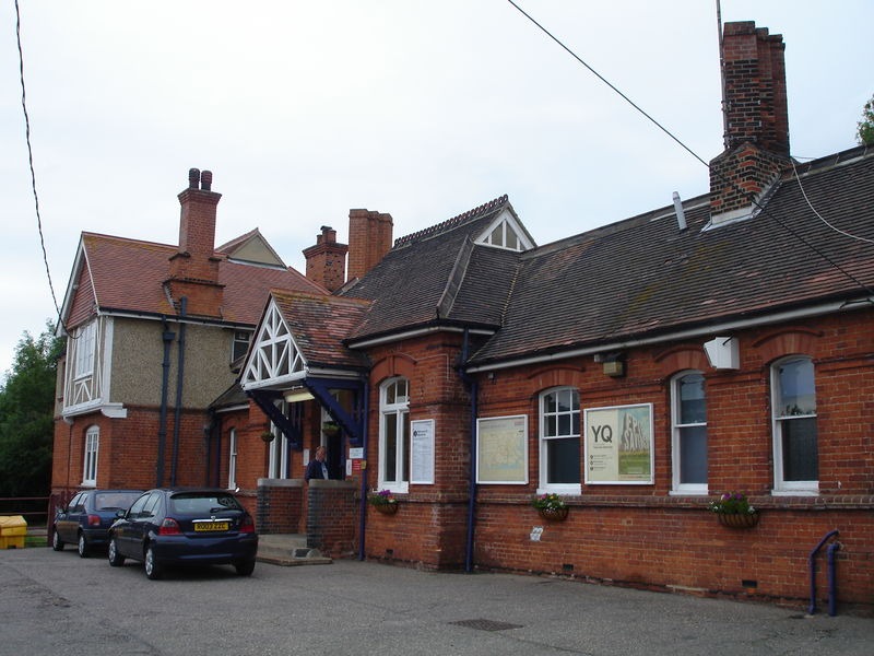 National Express : Wivenhoe station