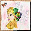 Canvas princesse Lily 1 - Eté 2014