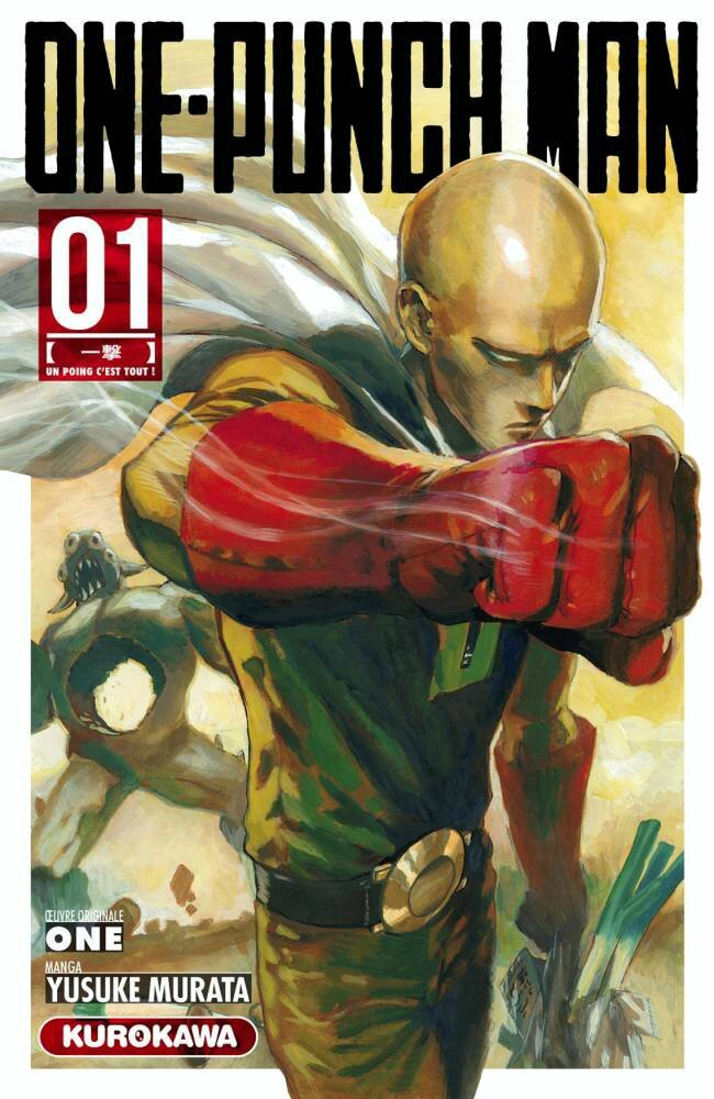 Le manga phénomène One Punch Man bat des records