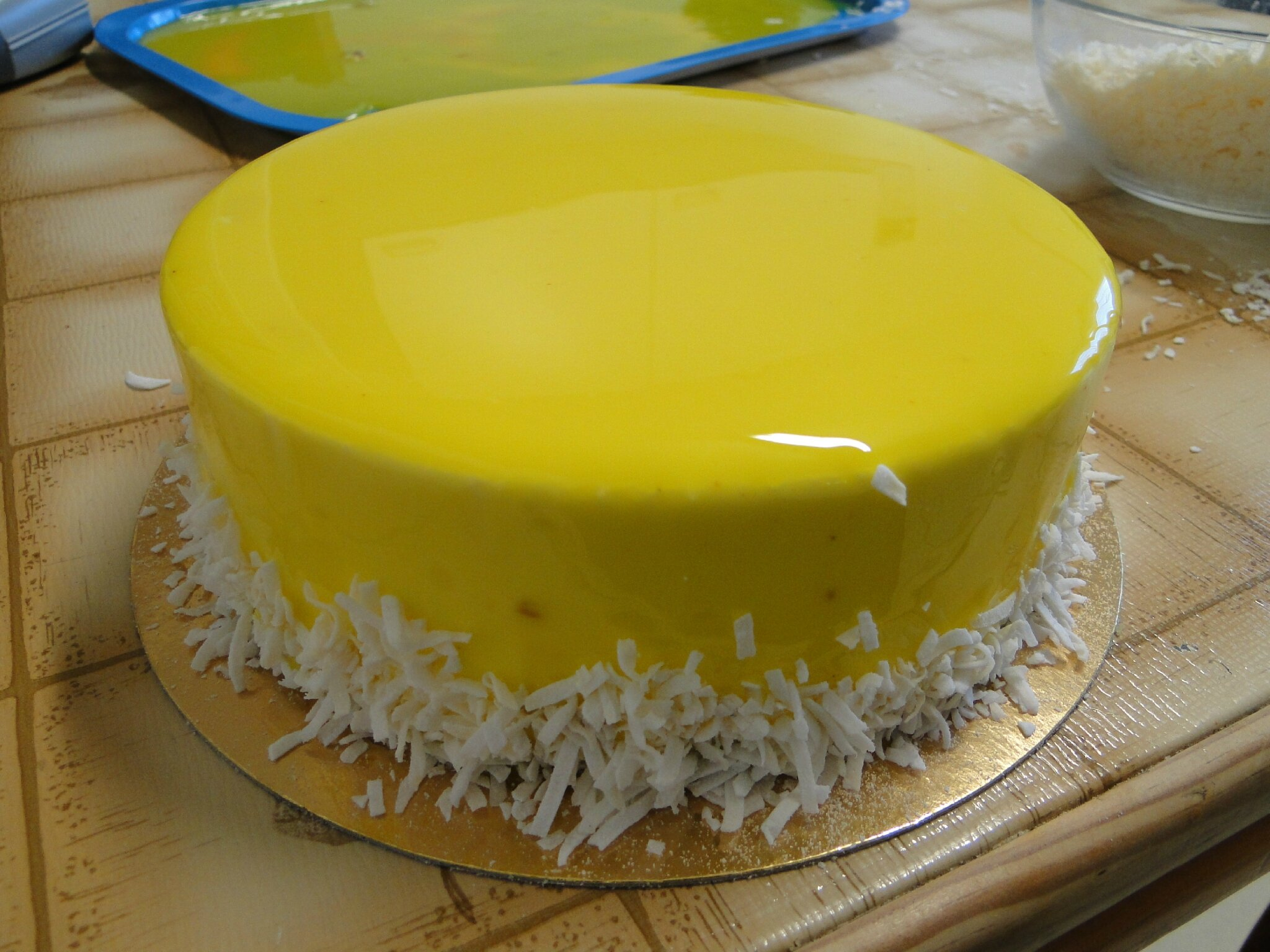 Cake Verveine Citron Sans Creme