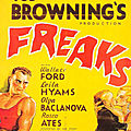 Freaks - La monstrueuse parade (de Tod Browning)