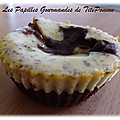 Le « brown-cheese » ou brownies et cheesecake en duo ! - version individuelle -