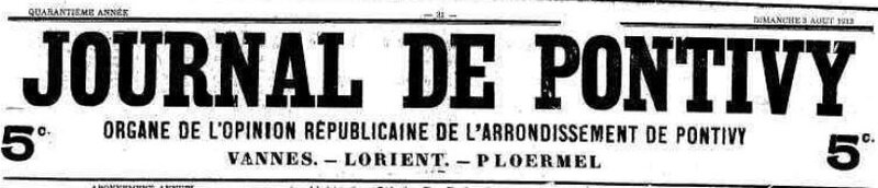 Presse Journal de Pontivy 1913_1
