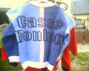 Pull machine Casse-Bonbon dos