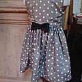 Un nouveau patron : la petite robe octavie...