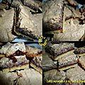 Sablés à la confiture de framboise et meringue noisette