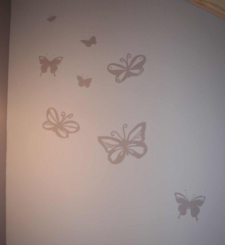 peinture murale papillon album photos d coration d 39 int rieur et peinture murale. Black Bedroom Furniture Sets. Home Design Ideas