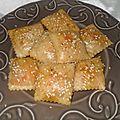 Raviolis au four à la truite fumée et au fromage