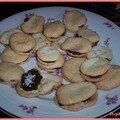 Macarons noix de coco et chocolat