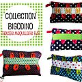 Trousse à maquillage originale - collection bigodino - pop, retro, vintage, à boucle bigoudi- ultra coloré - couleurs acidulées