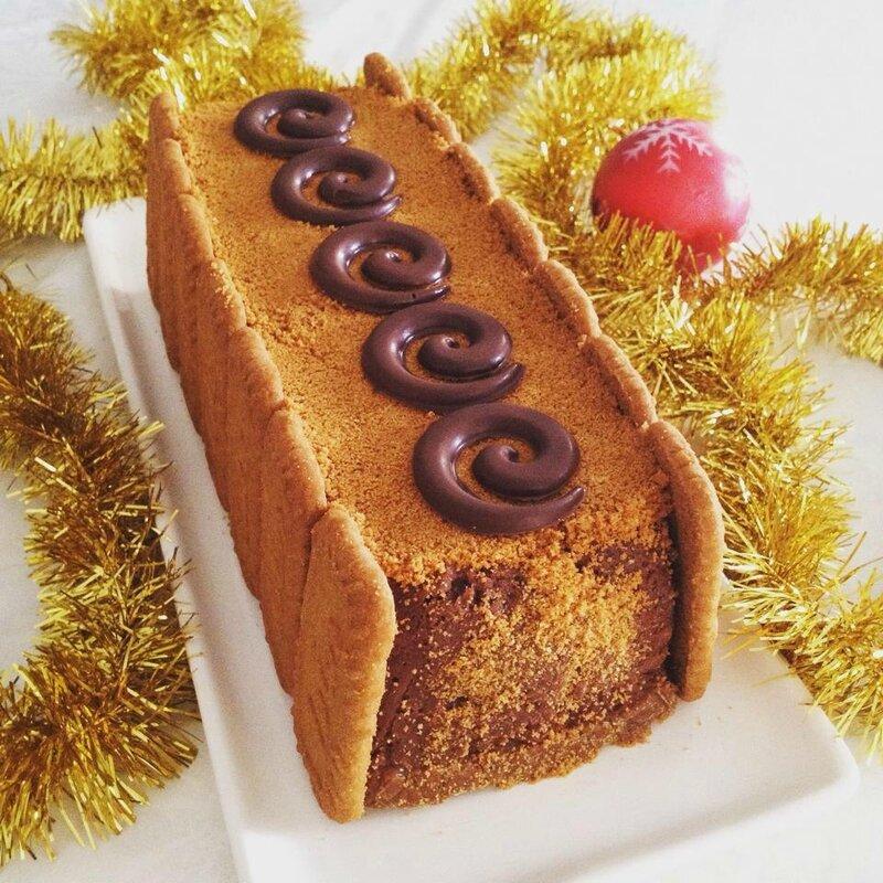 B che chocolat sp culos sans cuisson blogs de cuisine - Buche aux marrons sans cuisson ...