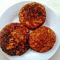 Galettes de quinoa et boulghour - galettes sans viande