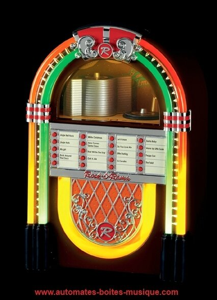 Juke box miniature Mr Christmas