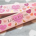 Love flush, ma jolie palette de blush signée too faced !