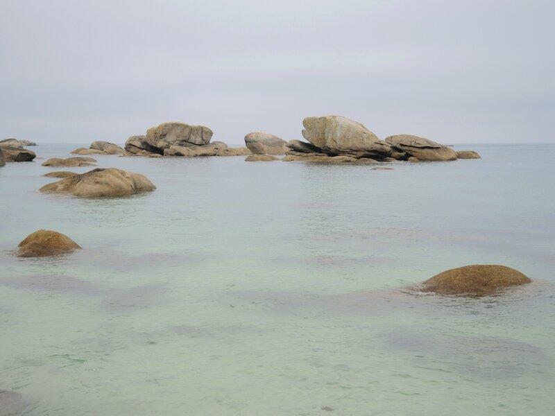 Brignogan-Plage, plage Pors Pol, eau (29)
